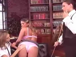 2 hot and horny girls get caught in the library by a hot and horny librarian.