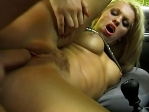 Hot German porn at its best ... featuring a big boobed horny blond MILF...