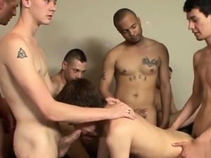 Hot twink From without a condom anal to deep-throat schlong