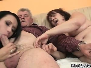 Slutty bitch, you fucking my parents?!!