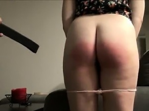 rain of strikes on bare Butt wendy