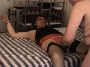 Nenacd crossdresser slut fucked bareback by her man Ray