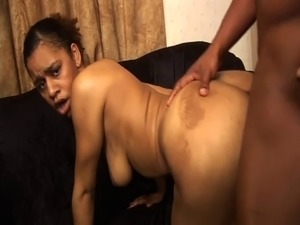 Ebony chick goes cock-crazy