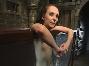 Beautiful Maya Matthews has Humiliated inside Water tied Vid