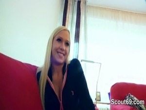 German Teen in Real Fake Casting for Money in Berlin free
