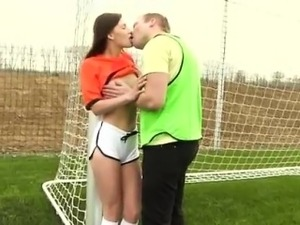 Ex cum in mouth Dutch football player pounded by photographe