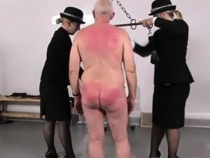 Police femdoms discipline perverted sub