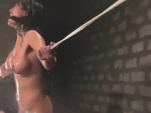 Sensuous Gianna Lynn has Tortured together with Water By Sgt. Major
