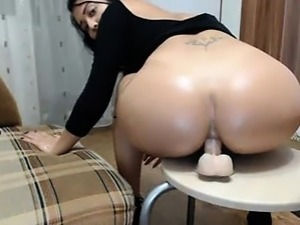 Friends Mother Rdes dildo in ass on cam - thefoxyhub.com