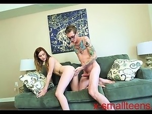 Cute tattooed Emo big ass teen doggystyle