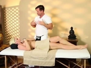Very tricky spa of graceful masseur