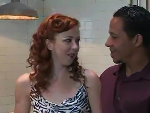Awesome red head inside the Smut pain pleasure action