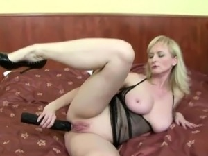 Karmen plays with a black guy and toys
