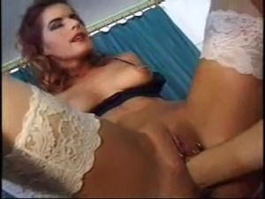Home made threesome fuck and fist