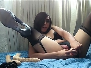 Hottest Tranny Masturbation Video