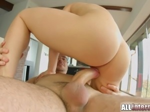 Allinternal Wendy Moon gapes her anal creampie