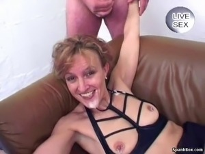Beautiful mature enjoys cumshots and assfucking Grannies, Matures,...