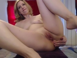 webcam big toy in asshole