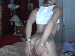 Hot blond get a good anal fucking with creampie !