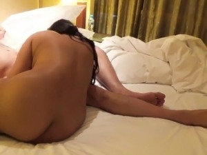 Pakistani milf doggy style in hotel