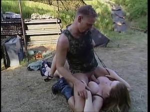 Zuzanna fucks a soldier
