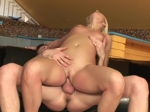 Teasing her pussy before sex