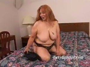 Pretty Hispanic Granny Gets Asshole Dicked