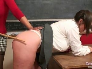 Teacher Danica Punishes Student Michelle