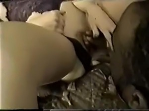 Two friends fucking a woman