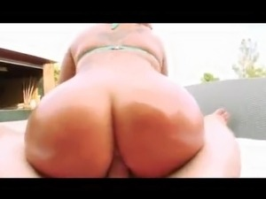 Cock Sucking and Anal Fucking in the Pool
