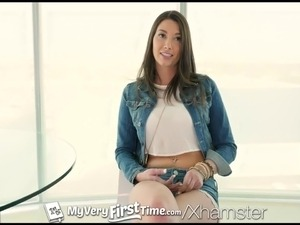 MyVeryFirstTime - Gia Love struggles with first anal scene