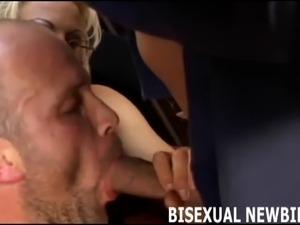 Practice your blowjob skills on this big cock