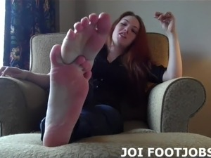 I know about your secret footjob fetish JOI