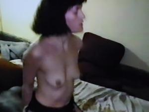 AndreaSex slut fucked big black cock.Film Cuckold happy.