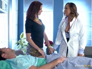Giving the hottest doctor ever the kind of drilling that she needs