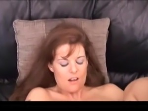 Curvy redhead milf with a nice meaty cunt fucked