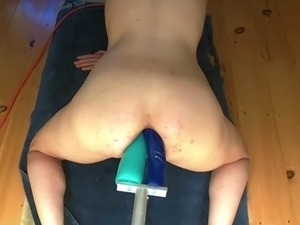 Long Double Anal Dildo Machine