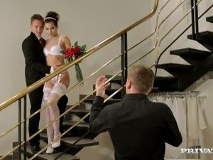 free amateur bride sex videos