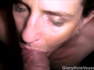 Three Gloryhole POV Blowjobs
