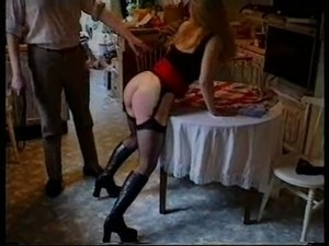 Washday Blues - Housewife Jenny is spanked and gets the belt