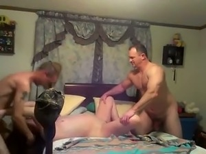 Just a young man joins me and my mature wife for threesome
