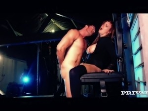 Delicious Turkish MILF Yuffie Yulan gets fucked in sideways and doggy poses...