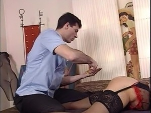 Horny granny gets fucked - french vintage