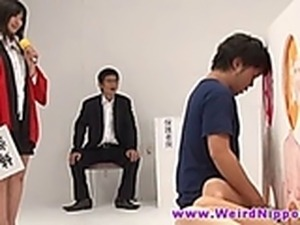 Grazy japanese game show with fucking