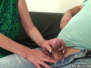 She reveals mom and husband taboo sex