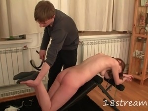Hot and wild porn sweetheart gets fucked in bondage and spanking