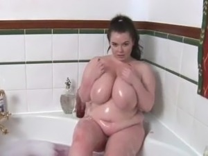 Busty Gina G Teases In The Bath