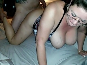 Hot wife fucked by a friend