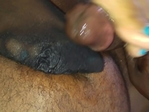 Cotton's First Time Nylon Pantyhose Footjob (Part 2)