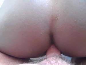 white guy black girl anal premature cum 1 second